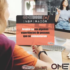 capa onebook inspirador32 inspire se em algumas experiências de pessoas que se reinventaram